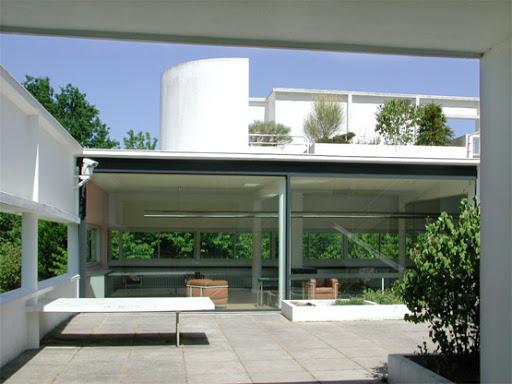 Ville savoye - Le corbusier tetto giardino ...
